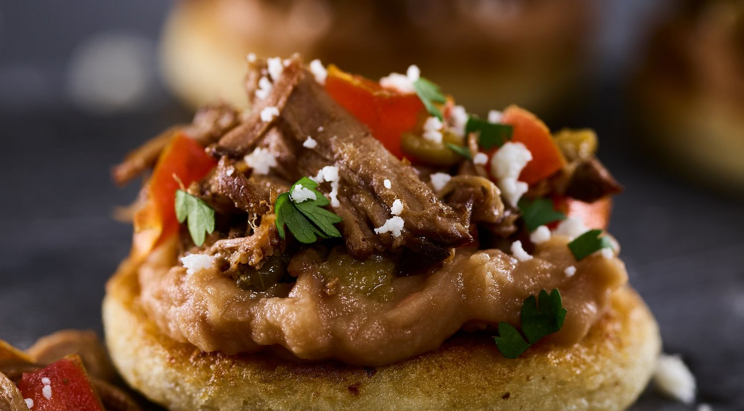 Mexican Beef Sopes