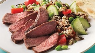 Asian Beef and Wild Rice Salad