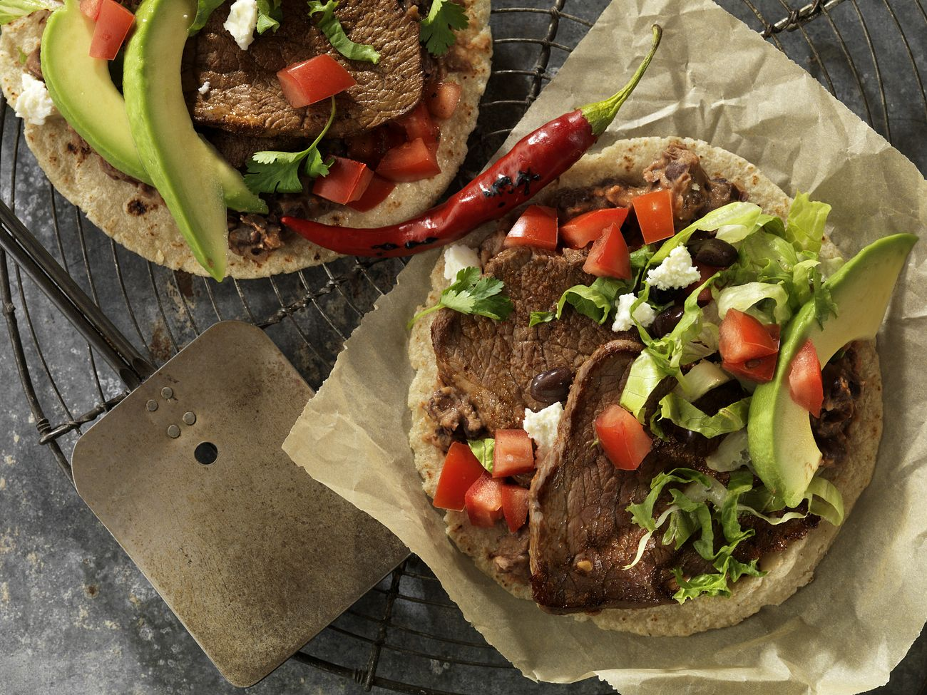 beef-breakfast-steak-and-black-bean-soft-tacos