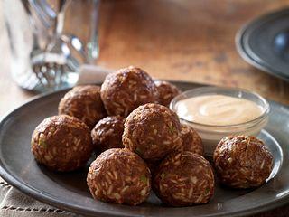 "Spicy Cajun ""Boudin"" Meatballs"