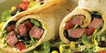 Beef Taco Wrap