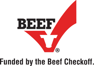 Beef Checkoff Logo with Tag