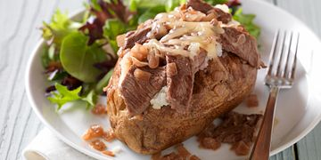 French-Style Beef Baked Potato
