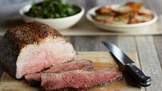Garlic-Herb Crusted Beef Roast