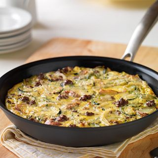 Beef and Veggie Frittata