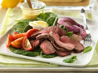 Garlic & Herb Steak Salad