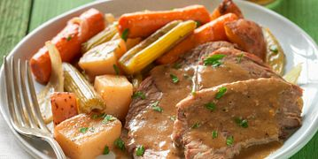 Irish Inspired Beef Pot Roast with Vegetables