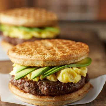 Country-Style Waffle Sandwich