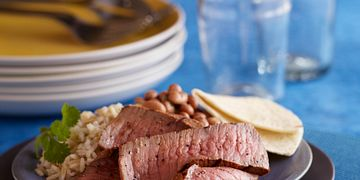 Smoky Yogurt-Marinated Steak