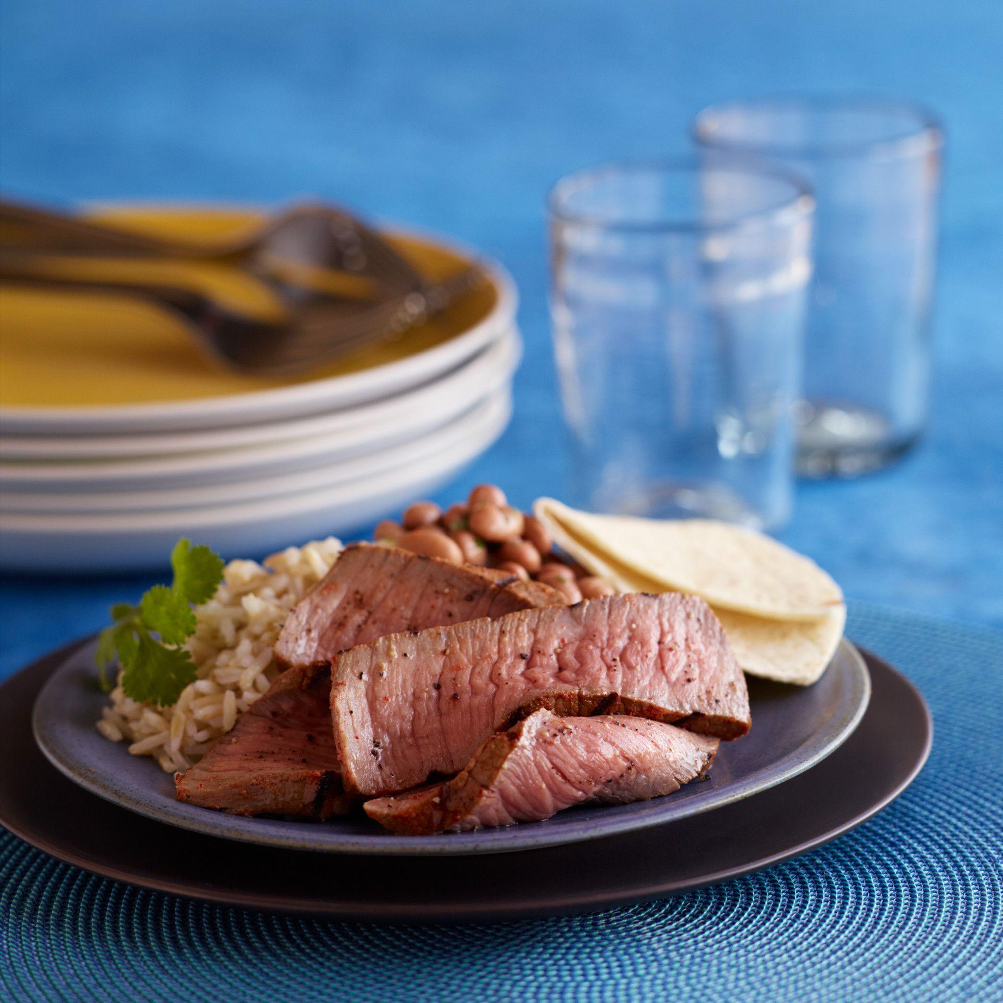 Smoky Yogurt-Marinated Steak