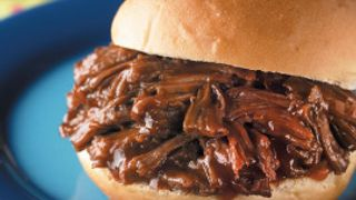 Shredded Beef Filling Two Ways Tangy BBQ Sandwiches