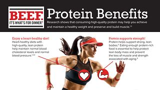 Protein Benefits Health Professional Fact Sheets
