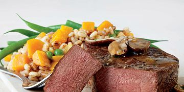 Bistro-Style Filet Mignon with Champagne Pan Sauce