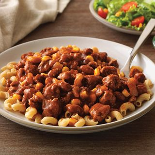 Serve this classic chili atop whole wheat noodles and offer kids a variety of toppings.