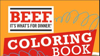 Beef Coloring Book