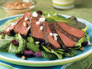 South of the Border Steak Salad with Creamy Taco Dressing