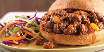 Sweet & Tangy Sloppy Joes