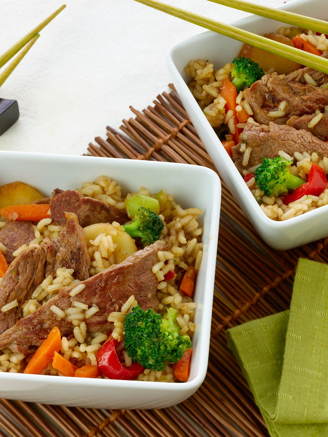 Korean Beef & Vegetable Bowls