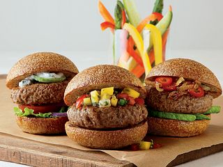 Two-Bite Burgers