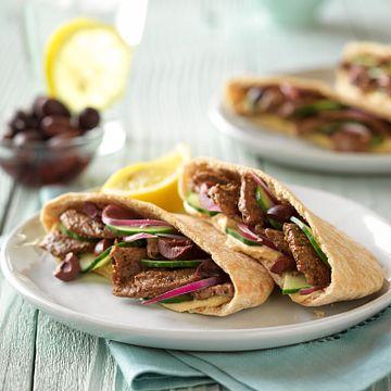 Greek Style Beef Pita