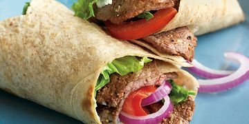 Steak and Blue Cheese Wraps