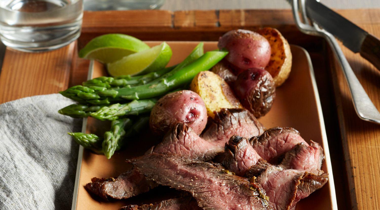 Chipotle-Marinated Beef Flank Steak
