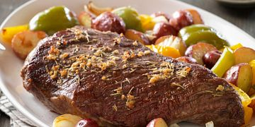 Tri-tip Roast with Rosemary Garlic