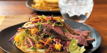 Beef Pupusas & Curtido Slaw