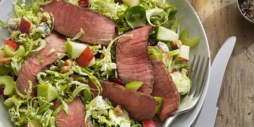 Four Seasons Beef and Brussels Sprout Chopped Salad