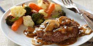 Salisbury Steak with Beef Gravy