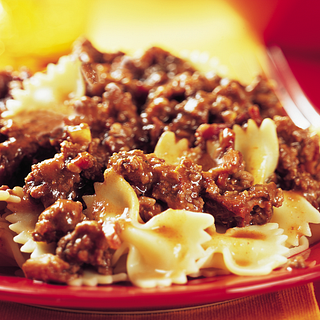 Porcini Mushroom and Beef Bolognese