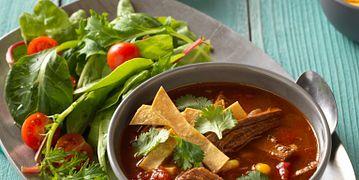 Beef Tortilla Soup