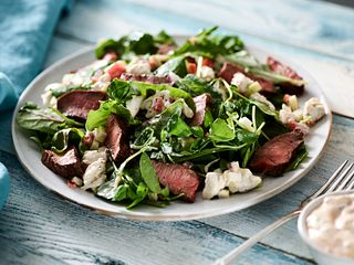 Beef Flatiron Steak Salad with Remoulade