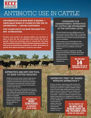 Antibiotic Fact Sheet