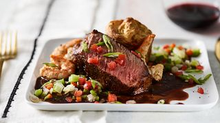 Blackened Beef Ribeye Roast Surf & Turf