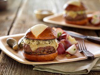 Oktoberfest Beef Burger