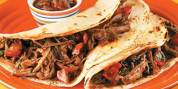 Shredded Beef Filling Two Ways