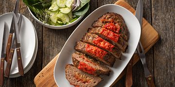 Rancher Recipe Summertime Beef Meatloaf