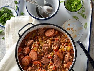 Beef Jambalaya