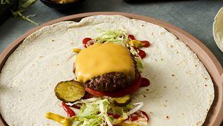 The Basic Burger Wrap Five Ways