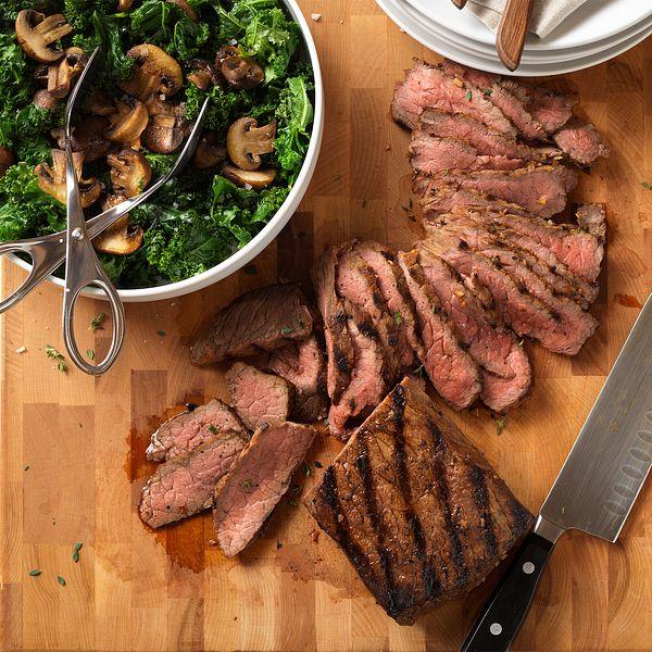 Red Wine Herb-Marinated Beef Steak