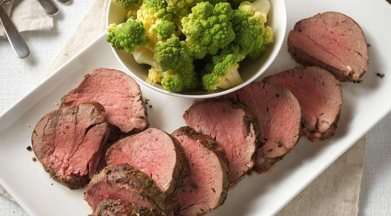 Herb-Crusted Beef Tenderloin Roast