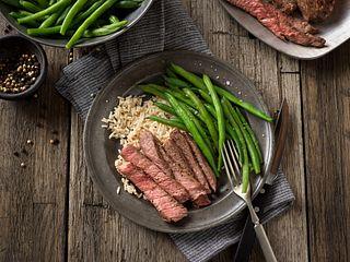 Pepper-Rubbed Beef Chuck Eye Steak