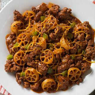 Chuckwagon Beef & Pasta Skillet