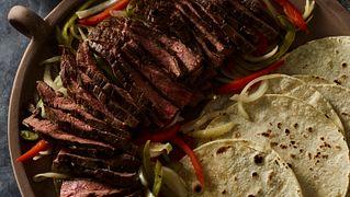 Sous Vide Flank Steak Fajitas
