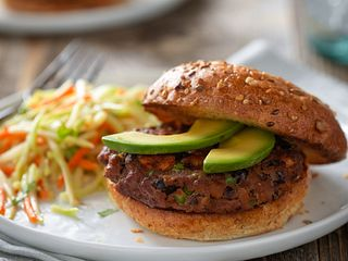 Beef and Black Bean Burgers