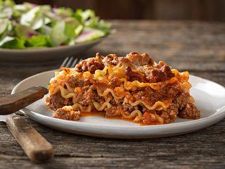 Farm-Ous Beef Lasagna