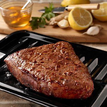Ginger-Soy Marinated Steak