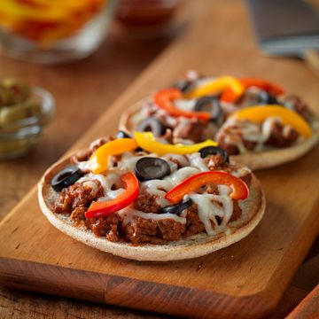 Personal Beef Pizzas