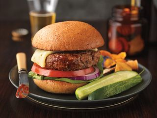 Zesty BBQ Cheeseburgers